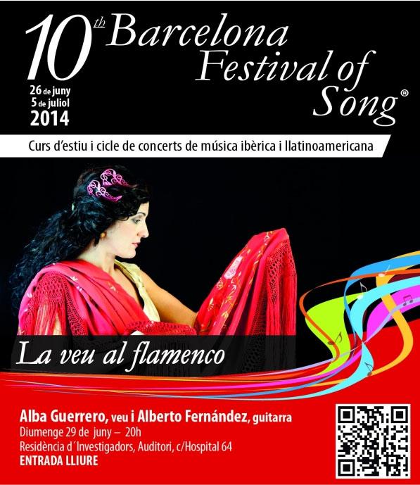Festival of song Alba Guerrero